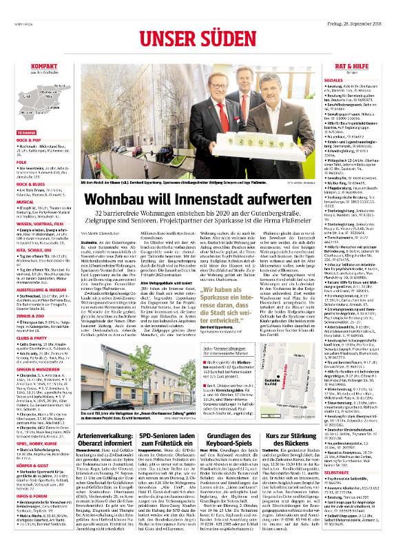 NRZ – Wohnbau will Innenstadt aufwerten
