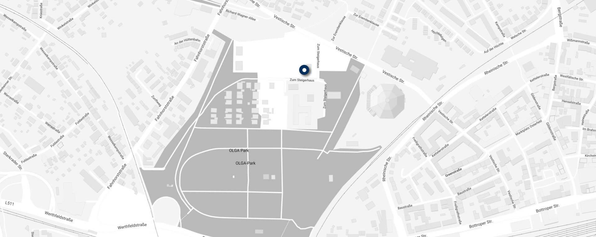 Karte Plassmeier, Zum Steigerhaus 1